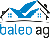 Baleo AG Logo Pantone Process Blueklein