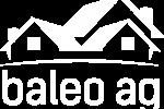 Baleo AG Logo Pantone Process Blueweiss